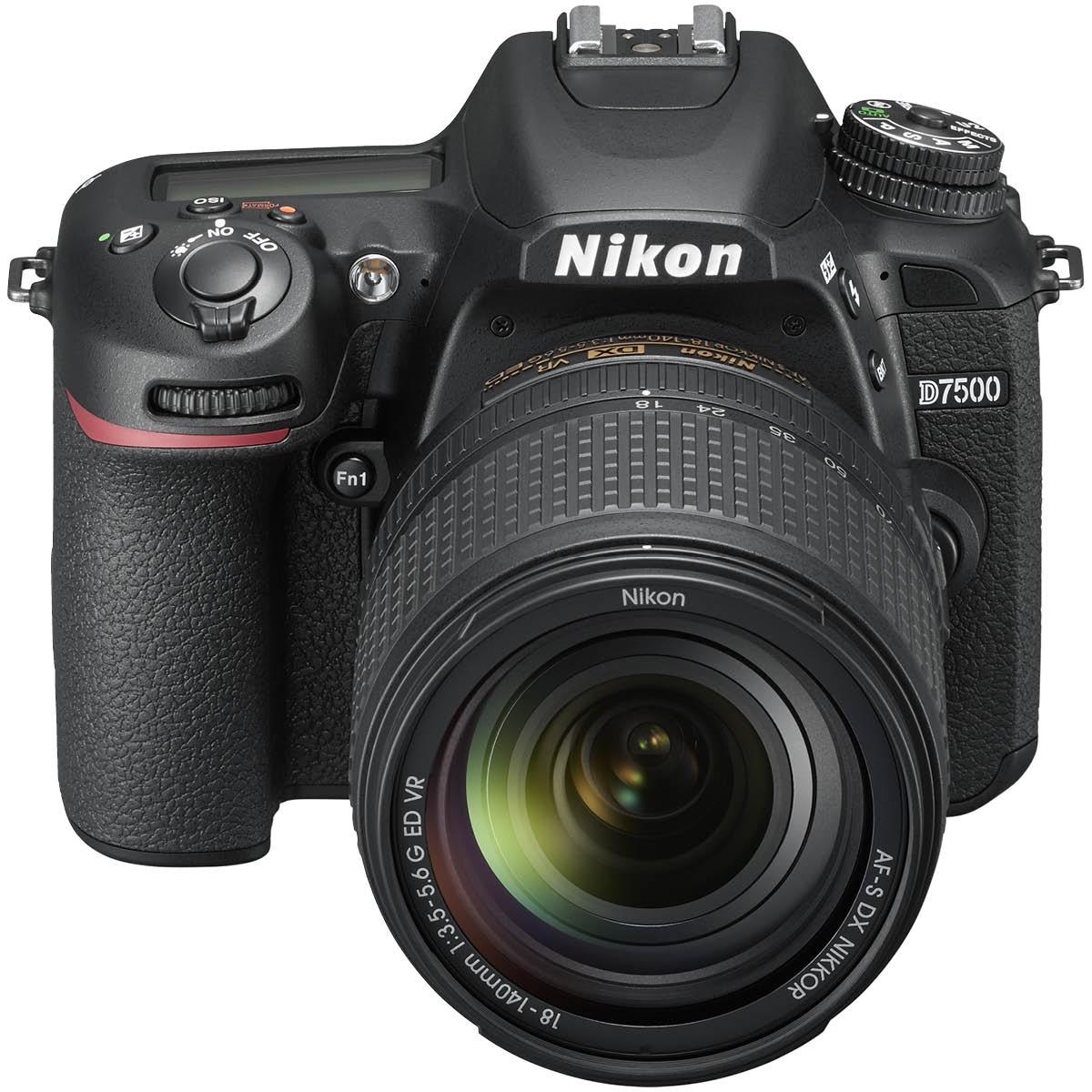 Nikon D7500 Kit + 18-140 mm 1:3,5-5,6