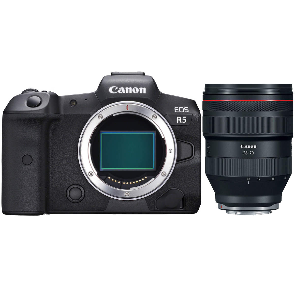 Canon EOS R5 + RF 28-70mm 1:2,0 L USM