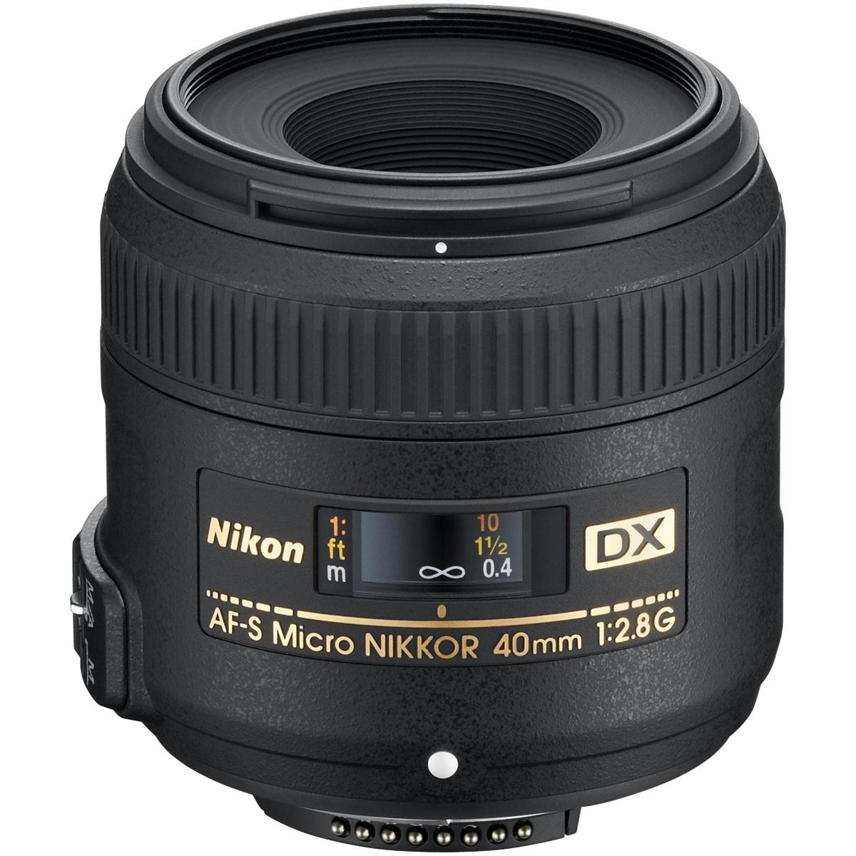 Nikon 40 mm 1:2,8 AF-S DX Micro