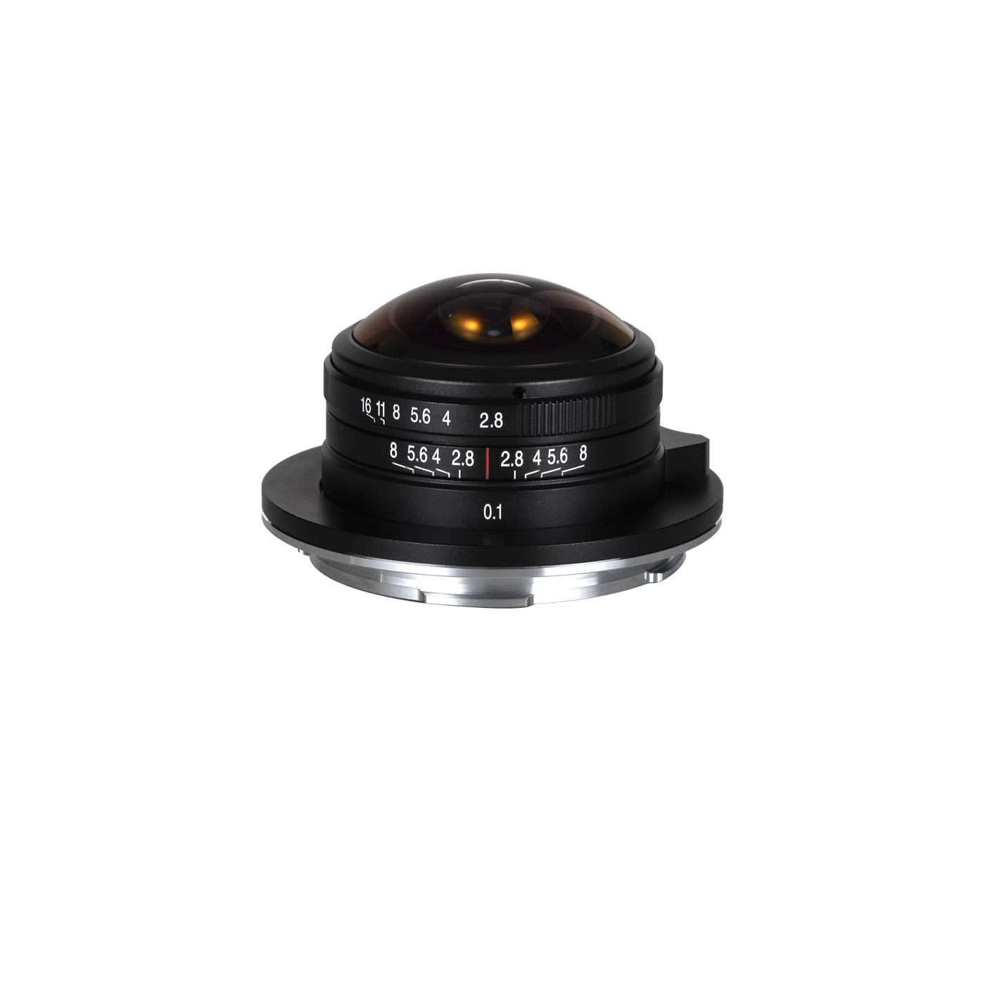 Laowa 4 mm 1:2,8 Fisheye für Nikon Z DX