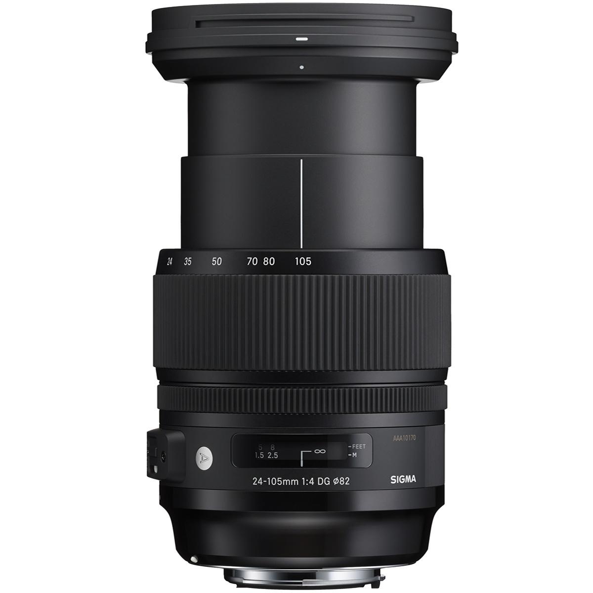 Sigma 24-105 mm 1:4,0 DG OS HSM Art EF