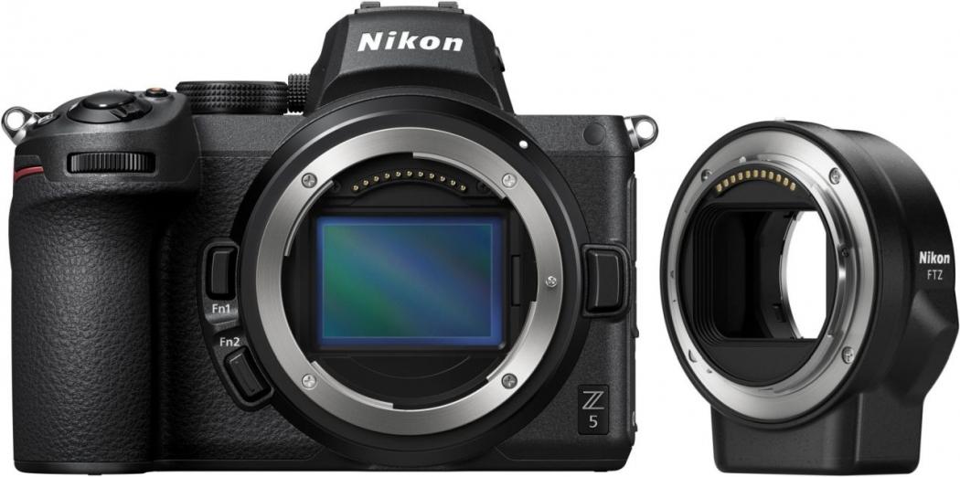 Nikon Z5 Kit mit FTZ-Adapter