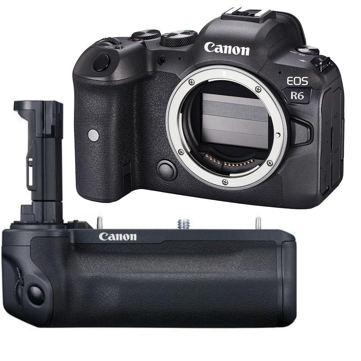 Canon EOS R6 + BG-R 10 Batteriegriff