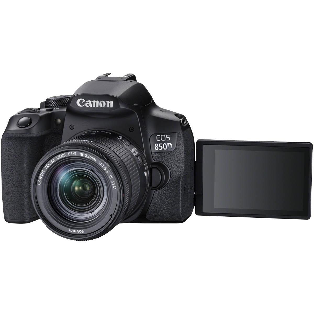 Canon EOS 850D Kit mit 18-55 mm 1:3,5-5,6