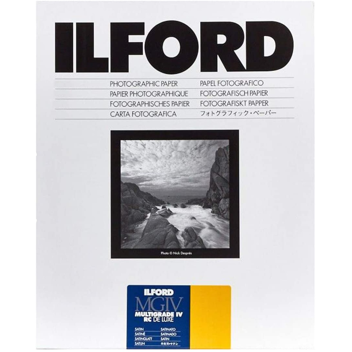 Ilford MG RV Deluxe 25m 30x40 50 Blatt