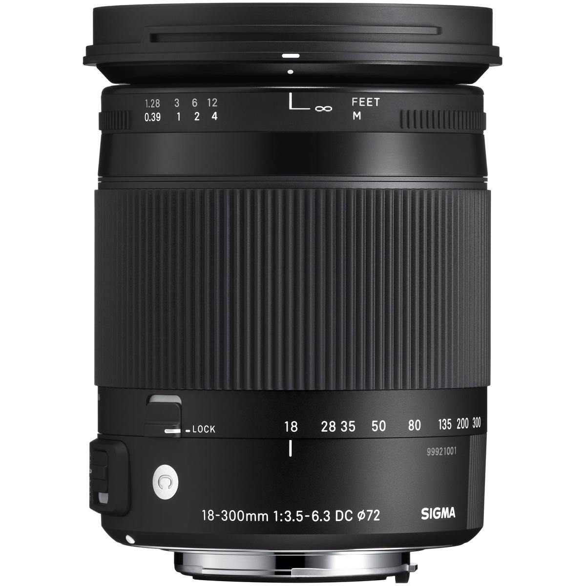 Sigma 18-300 mm 1:3,5-6,3 DC Makro OS HSM (C) EF-S