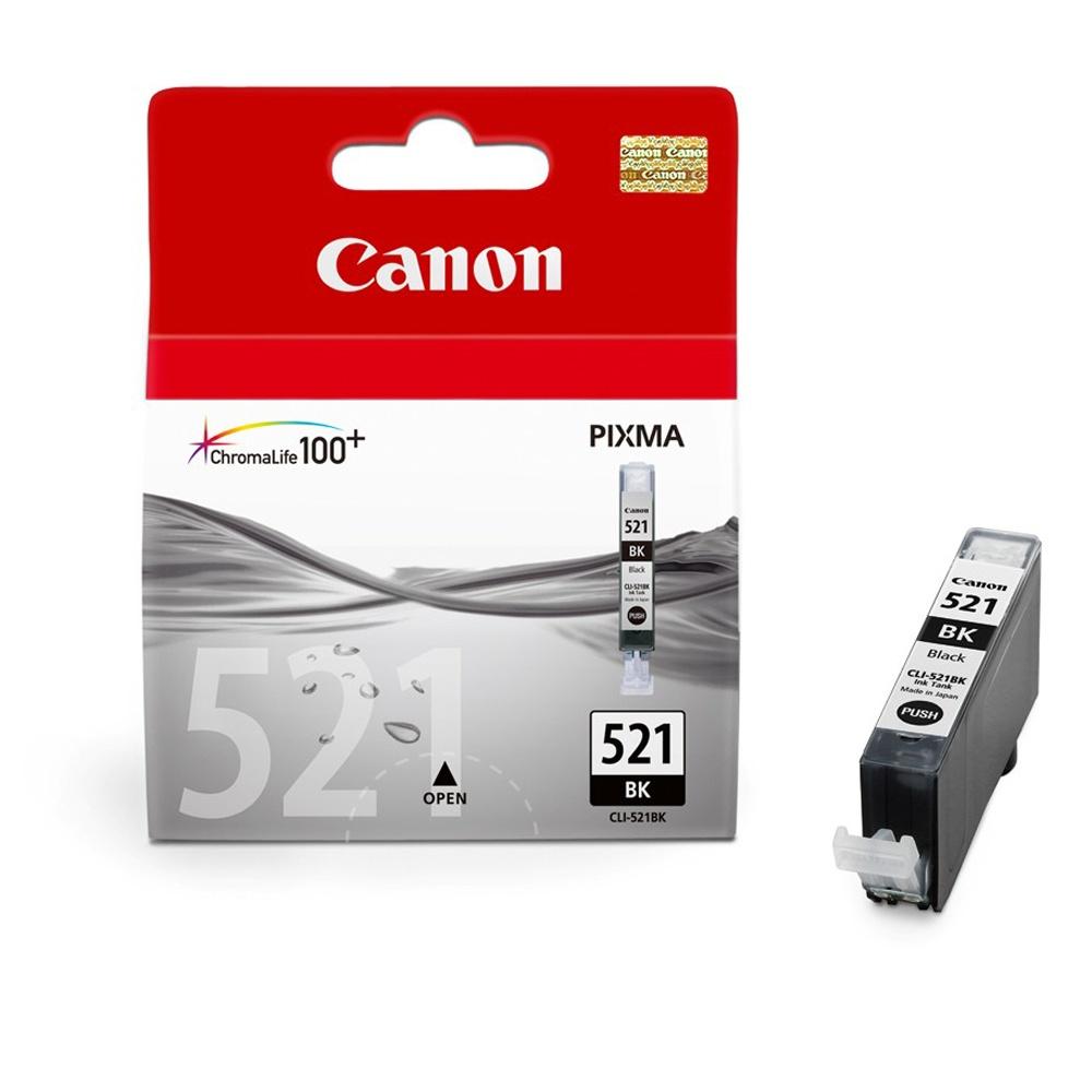 Canon CLI-521 BK Tintenpatrone Foto-Schwarz