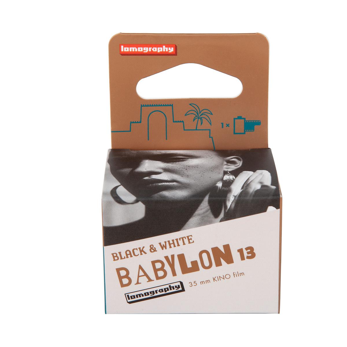 Lomo Babylon Kino 35/13 Schwarz/Weiss