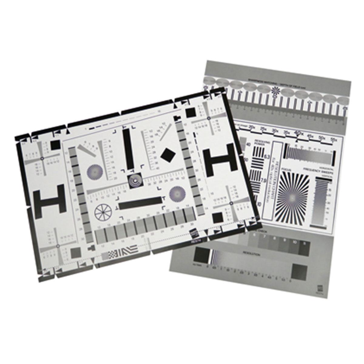 B.I.G. RES7 Testtafel für Kameras und Objektive