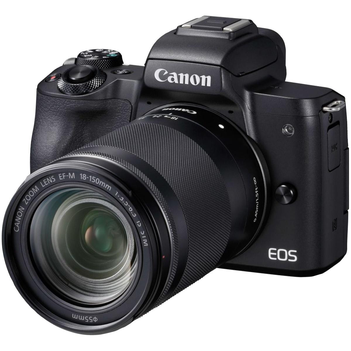 Canon EOS M50 Kit mit 18-150 mm 1:3,5-6,3