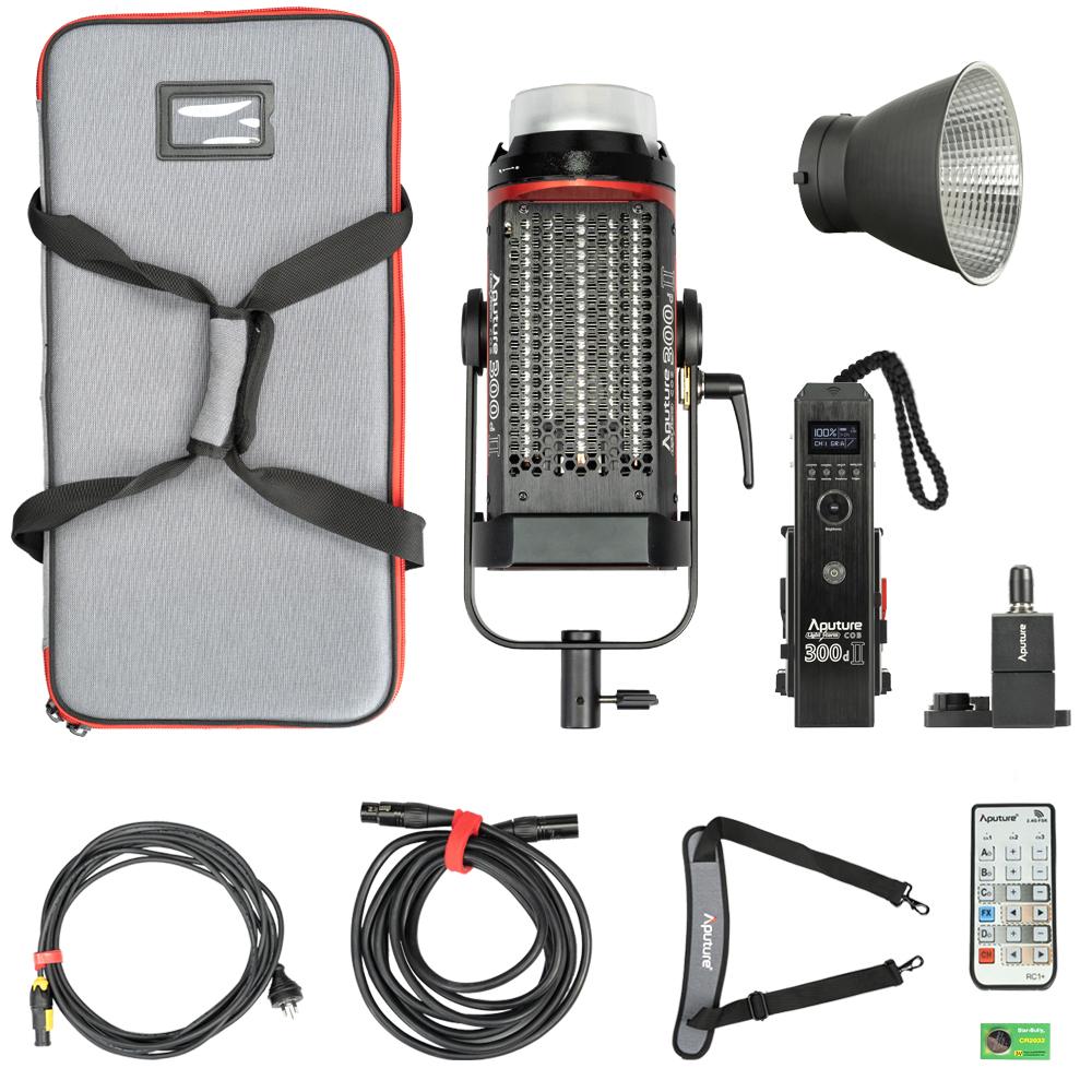 Aputure Light Storm C 300 D MKII Kit