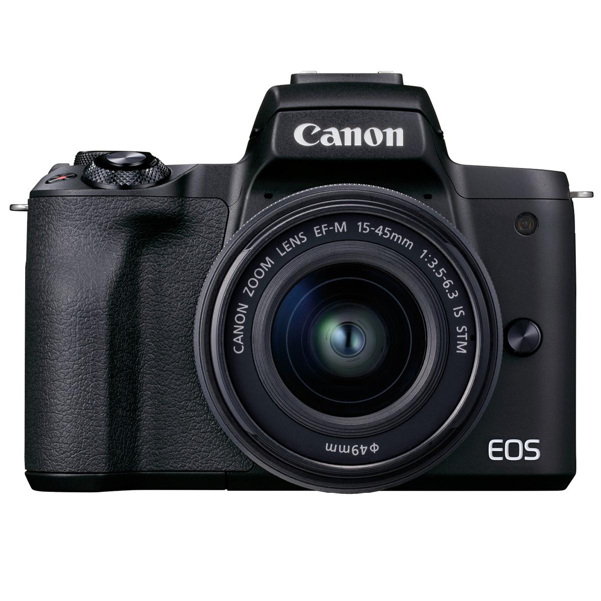 Canon EOS M50 II Kit mit 15-45 mm 1:3,5-6,3 schwarz