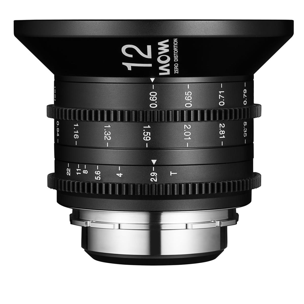 Laowa 12 mm 1:2,8 Zero-D Cine für Sony E