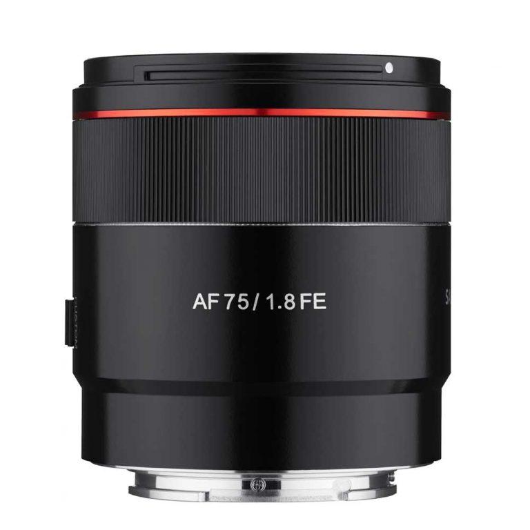 Samyang AF 75 mm 1:1,8 für Sony FE
