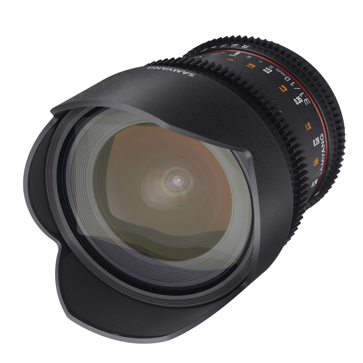 Samyang MF 10 mm 1:3,1 Video für Sony E