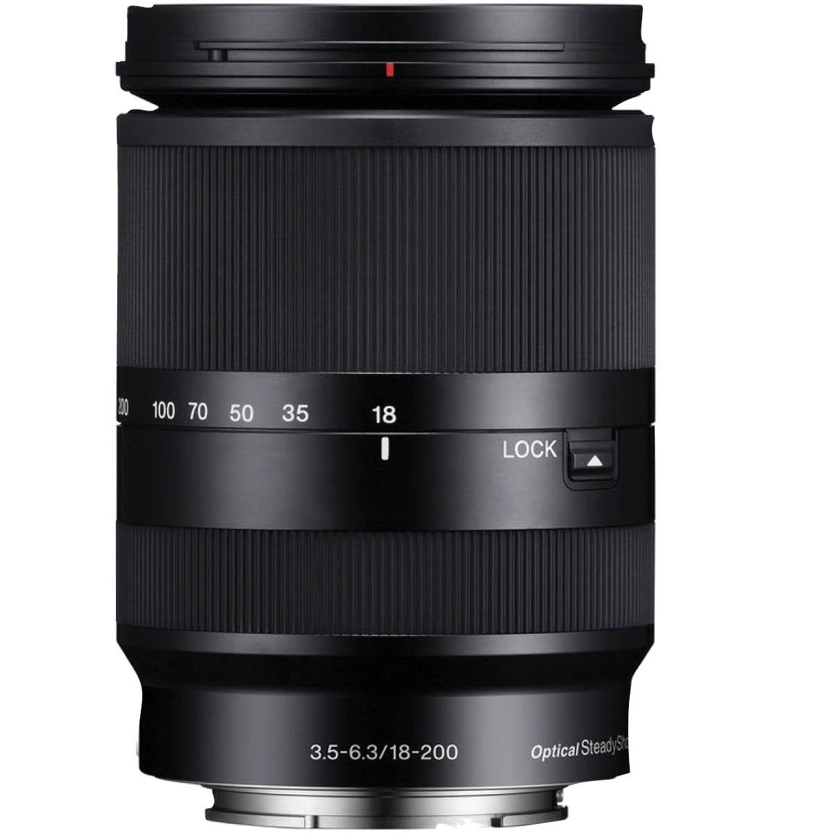 Sony 18-200 mm 1:3,5-5,6 OSS LE E-Mount