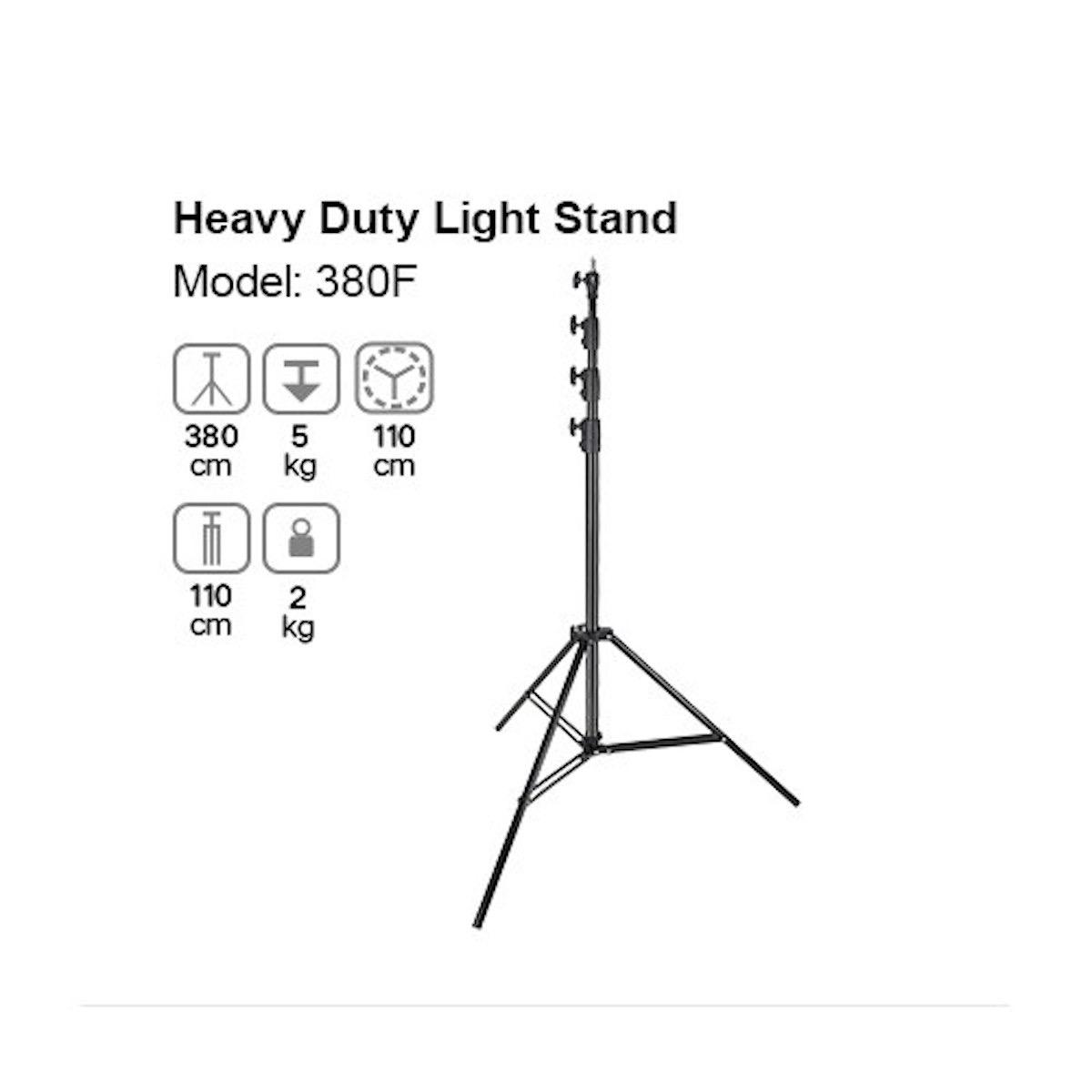 Godox 380F Heavy Duty Lichtstativ