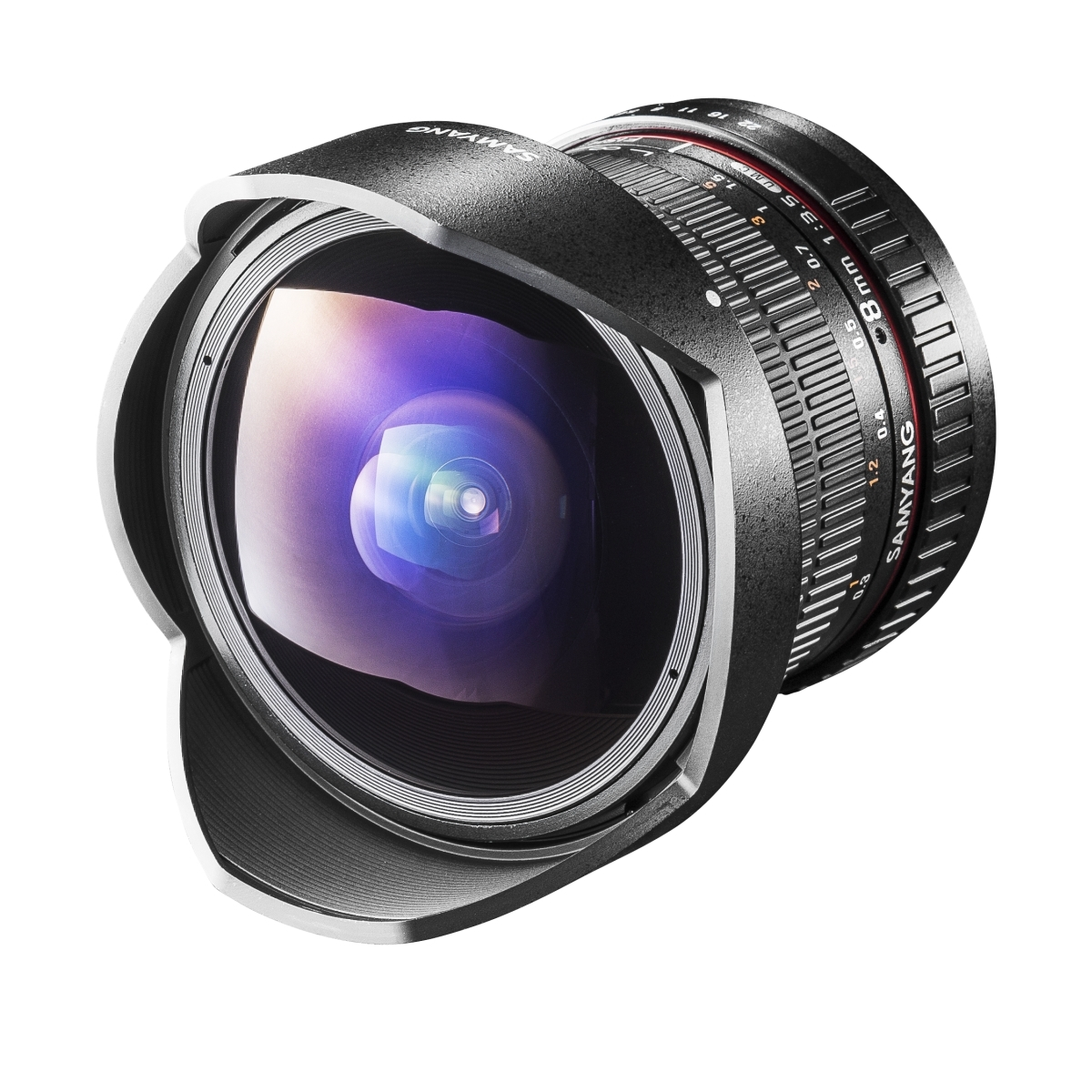 Samyang MF 8 mm 1:3,5 Fisheye II für Canon EF