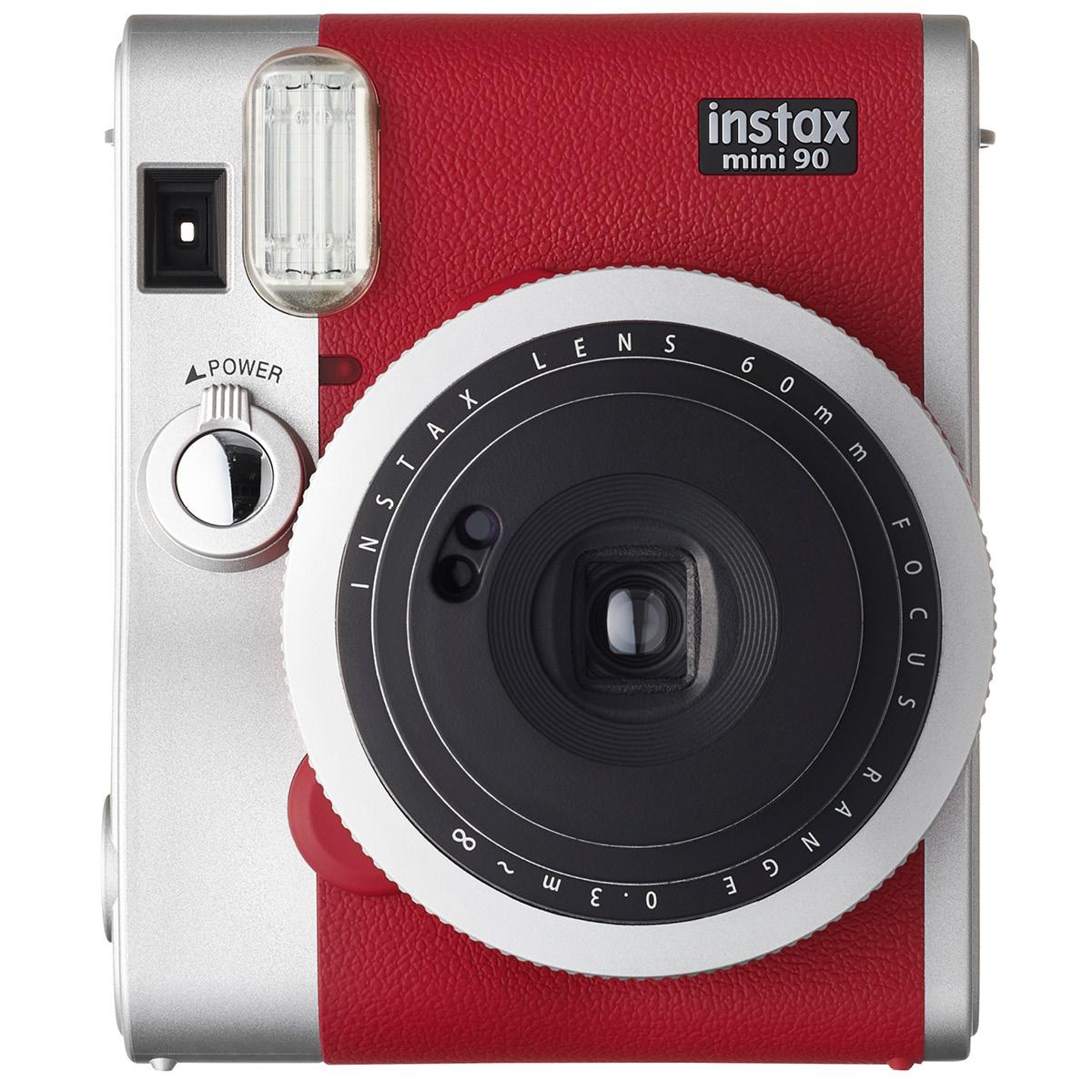 Fujifilm Instax Mini 90 Neo Classic Rot