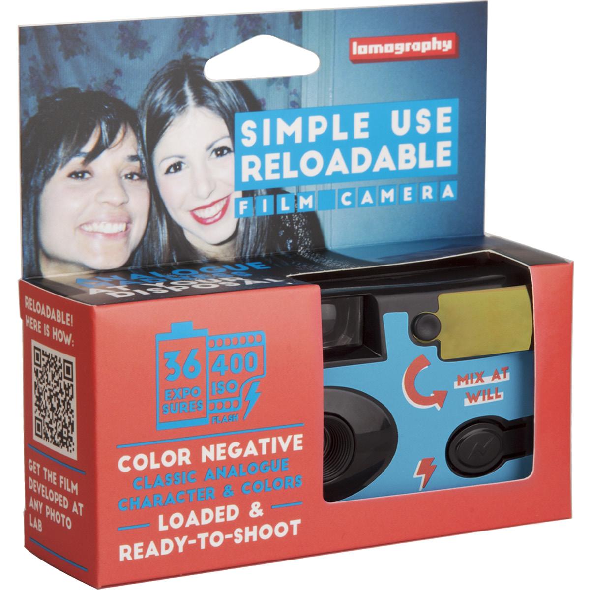 Lomography Farbfilm Mehrwegkamera 400 36