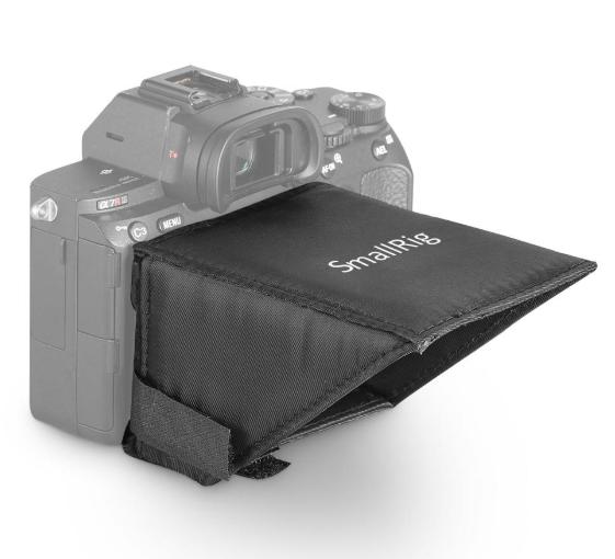 SmallRig LCD Bildschirm-Sonnenblende für Sony A7 / A7II / A7III / A7R IV / A9 2215
