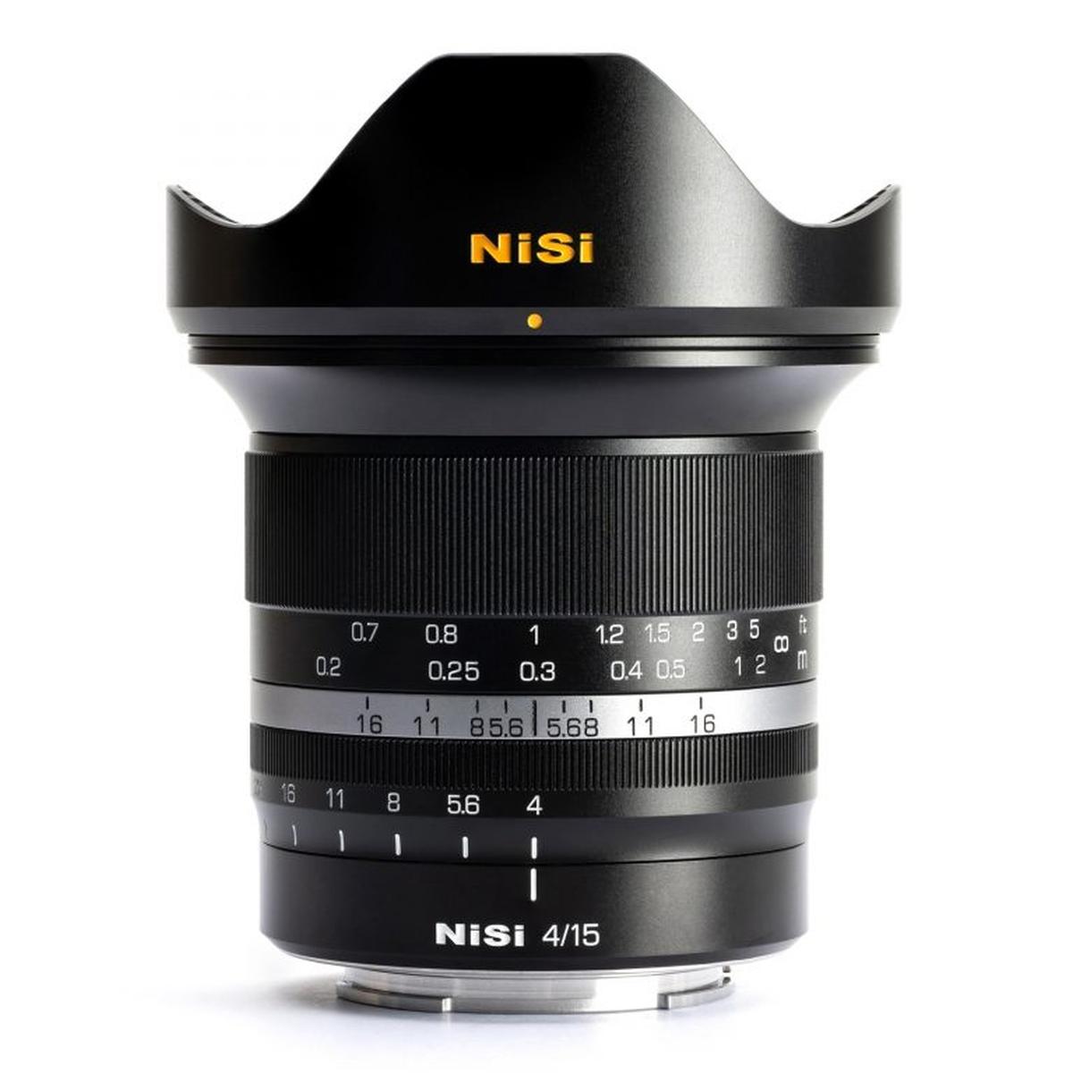 Nisi 15 mm 1:4 für Sony E