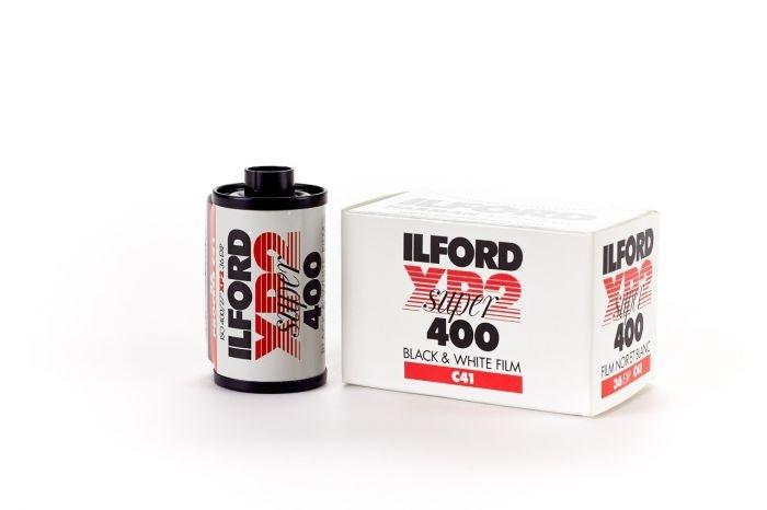Ilford XP 2 Super 400 Kleinbildfilm SW