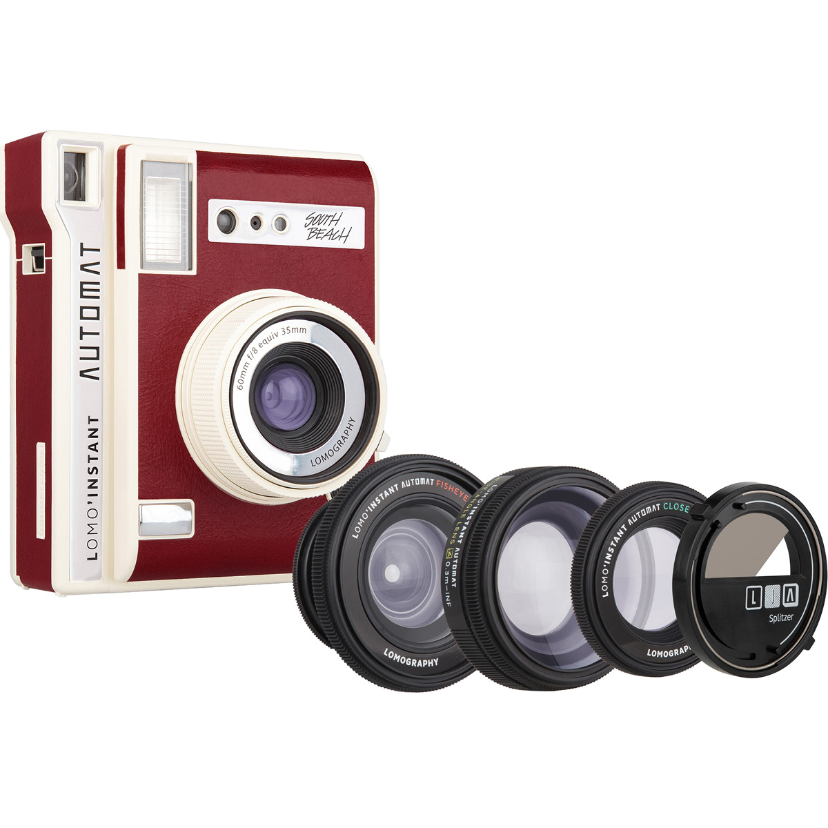 Lomography Lomo'Instant Automat South Beach Kit mit Objektivaufsätzen