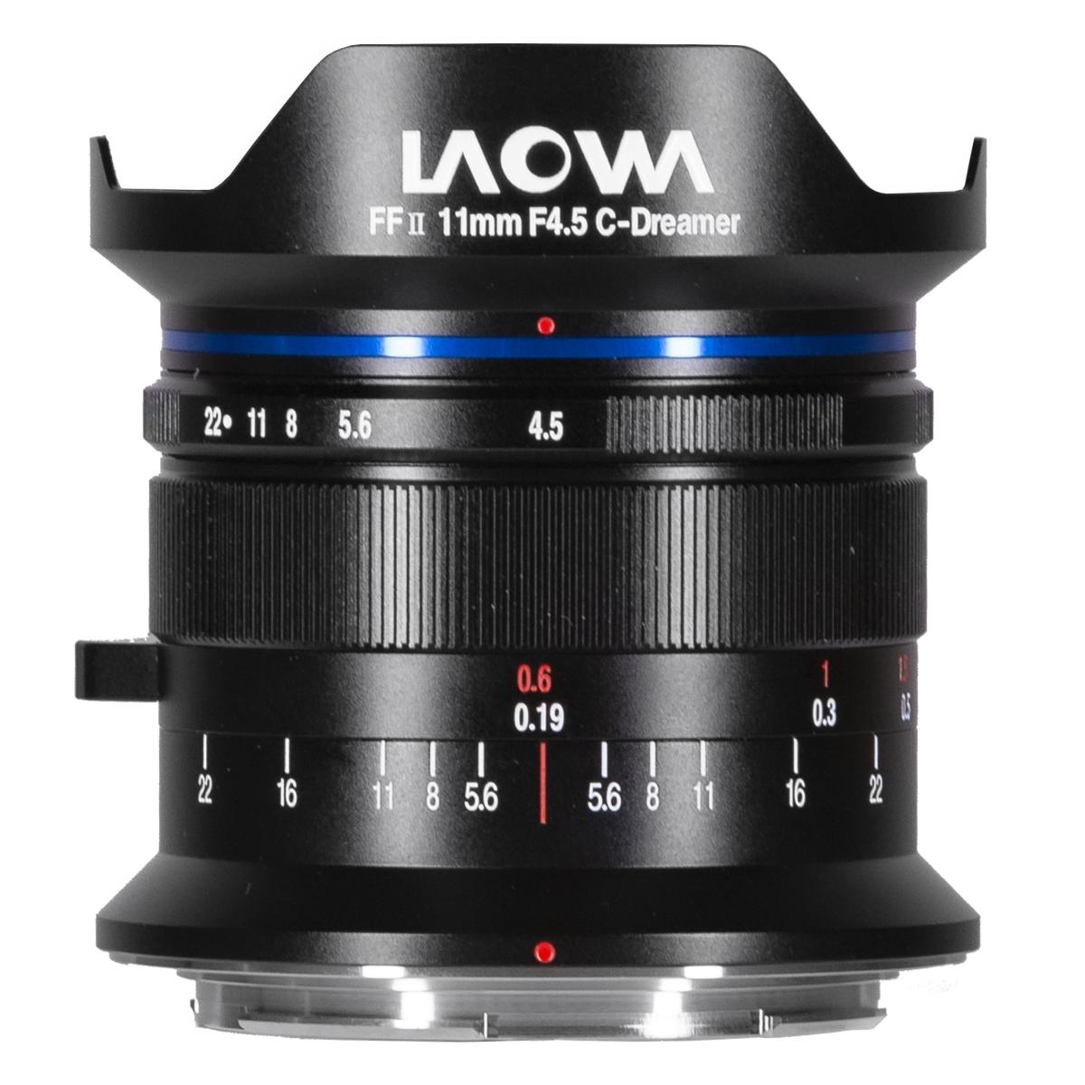 Laowa 11 mm 1:4,5 FF RL für Canon RF