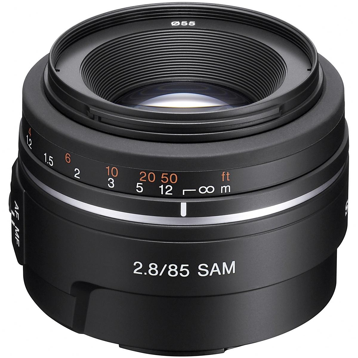 Sony 85 mm 1:2,8 SAM A-Mount