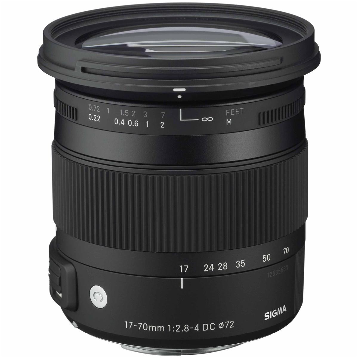 Sigma 17-70 mm 1:2,8-4,0 DC Makro OS HSM (C) DX