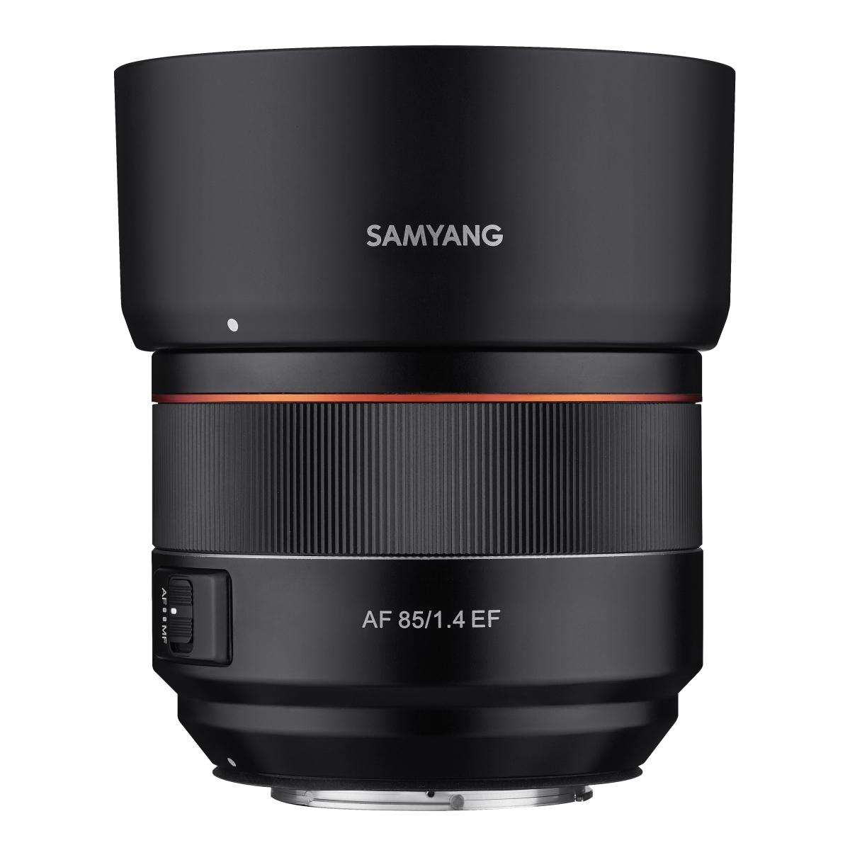 Samyang AF 85 mm 1:1,4 für Canon EF