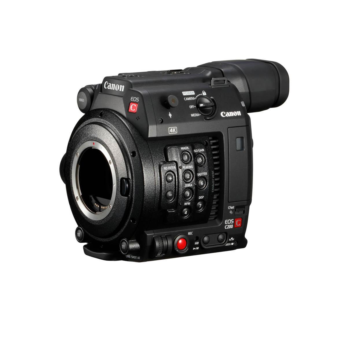 Canon C200 Body + CFast-Karte 128G Kit
