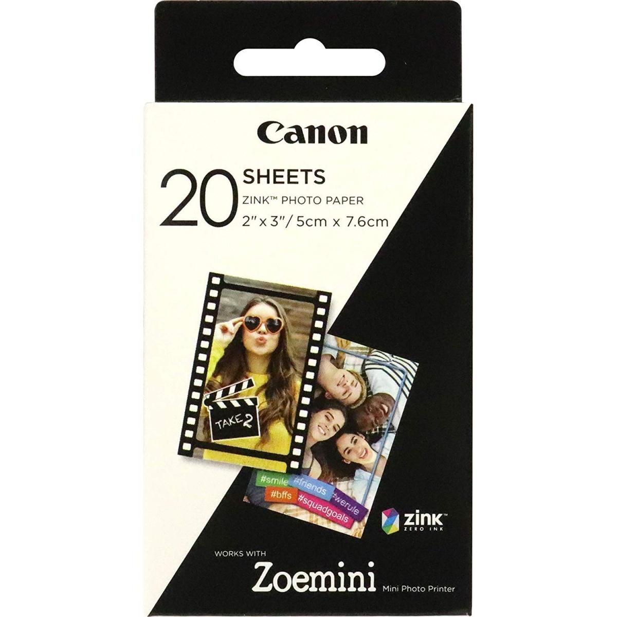 Canon ZP 2030 Zinkpapier 20er Zoemini Fotodrucker