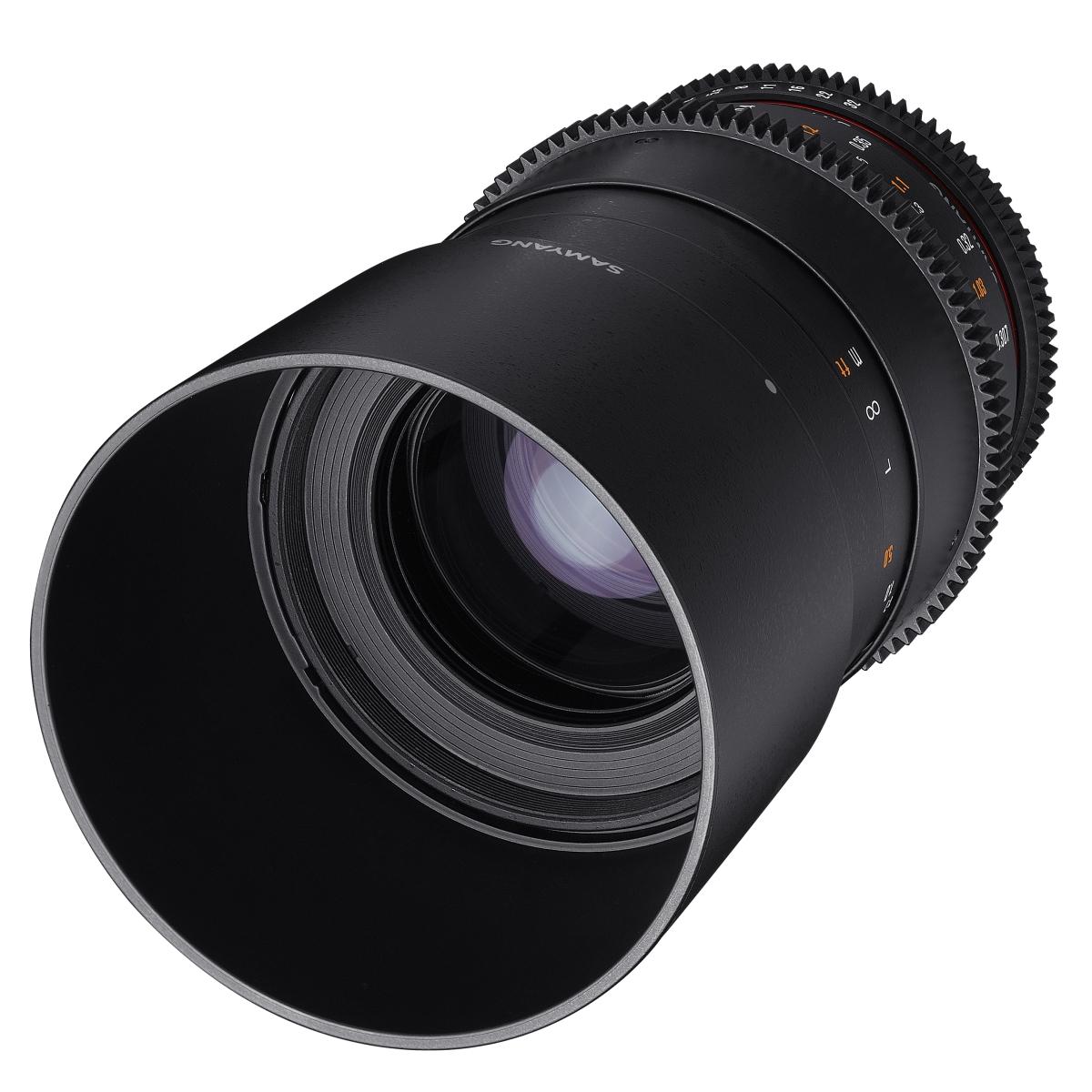 Samyang MF 100 mm 1:3,1 Makro Video DSLR für MFT