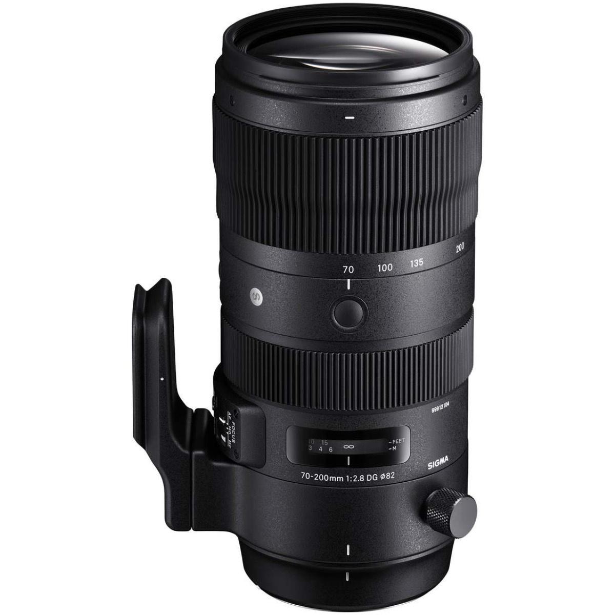 Sigma 70-200 mm 1:2,8 DG OS HSM (S) FX