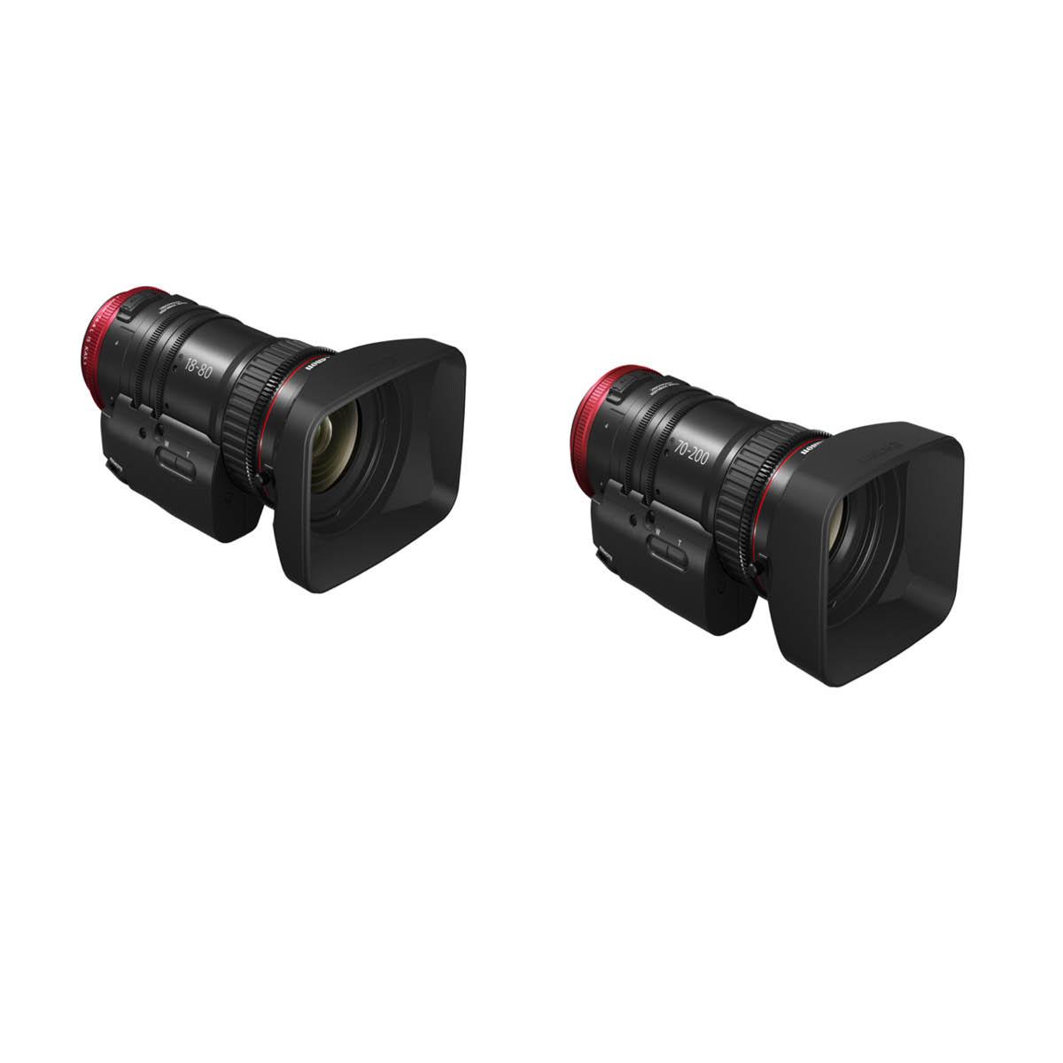 Canon 18-80 + 70-200 Cine Servo Kit