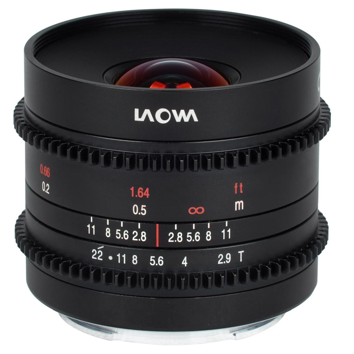 Laowa 9 mm 1:2,9 Zero-D Cine für MFT
