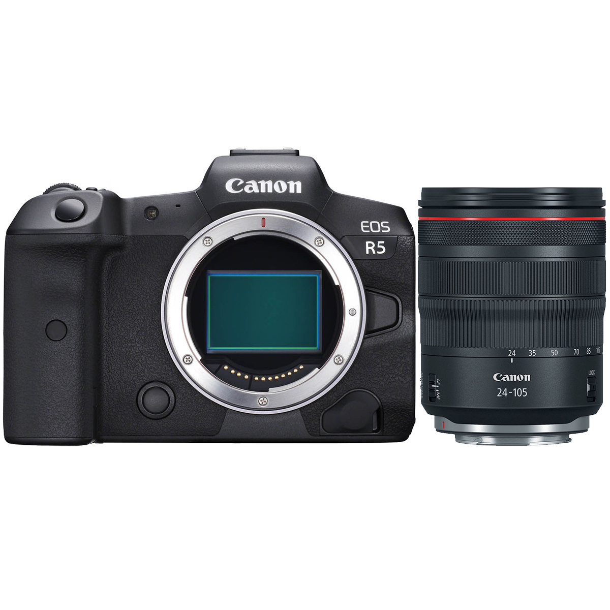 Canon EOS R5 + RF 24-105mm 1:4,0 L IS USM