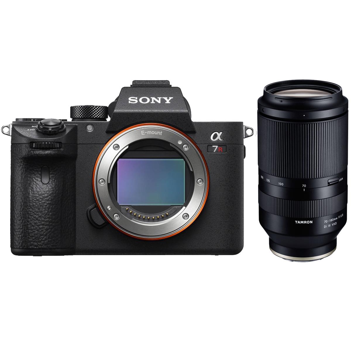 Sony Alpha 7R III A + Tamron 70-180 mm 1:2,8