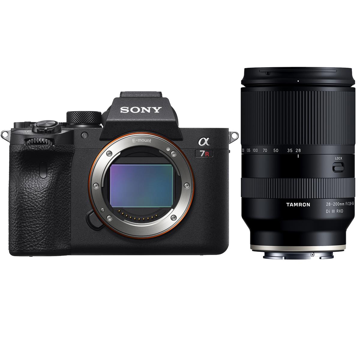 Sony Alpha 7R IV + Tamron 28-200mm 1:2,8-5,6 Di III RXD