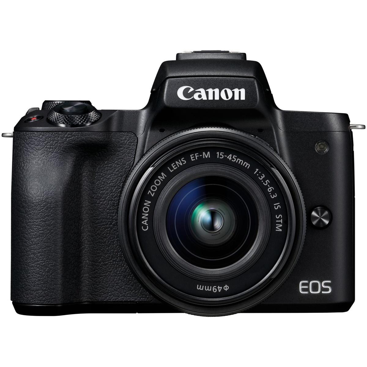 Canon EOS M50 Kit mit 15-45 mm 1:3,5-6,3