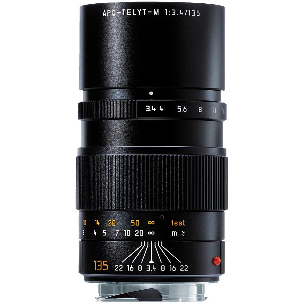 Leica 135 mm 1:3,4 APO-Telyt-M Schwarz
