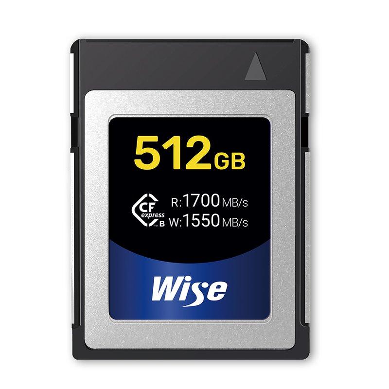 Wise 512 GB CFexpress Typ B