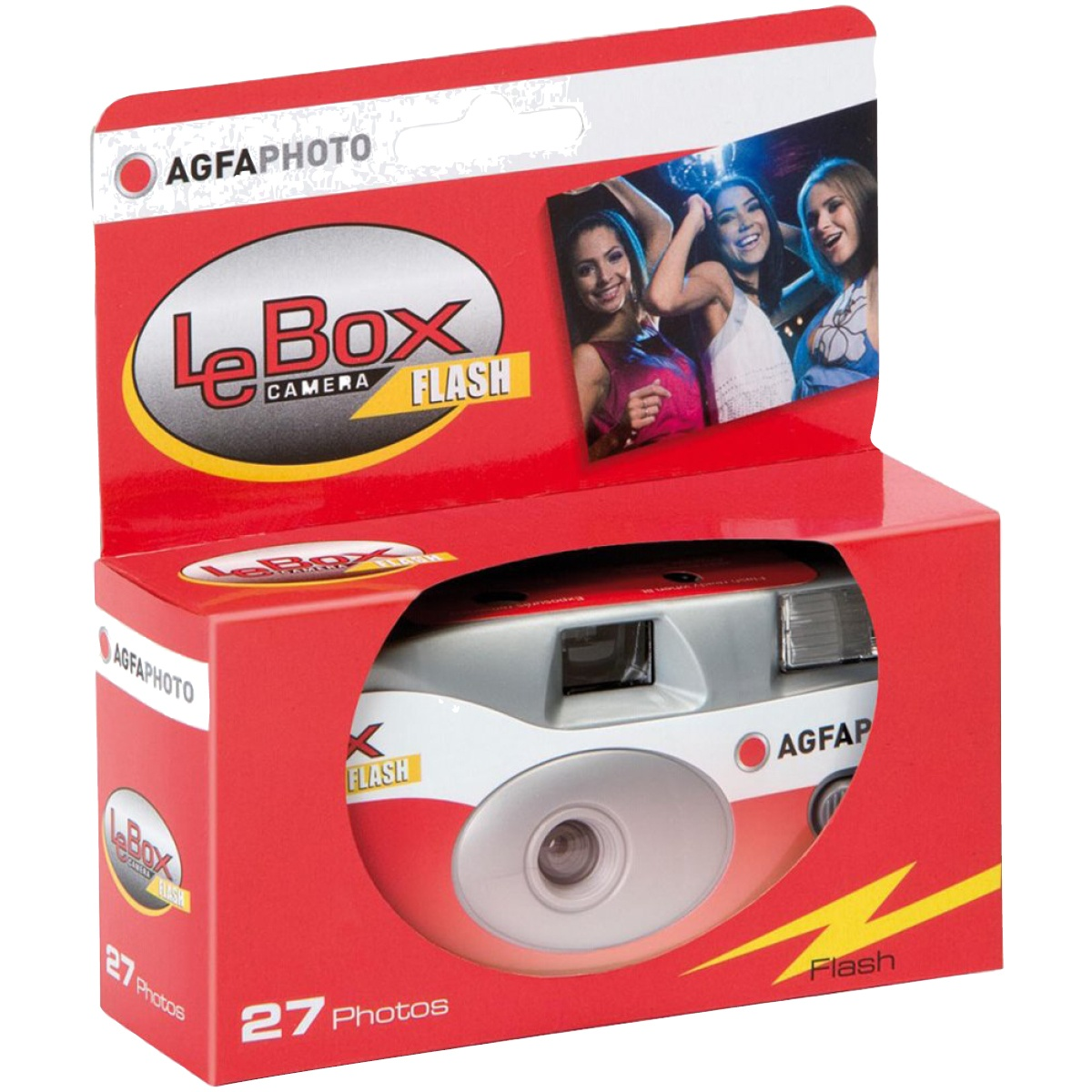 Agfa LeBox Flash Einwegkamera