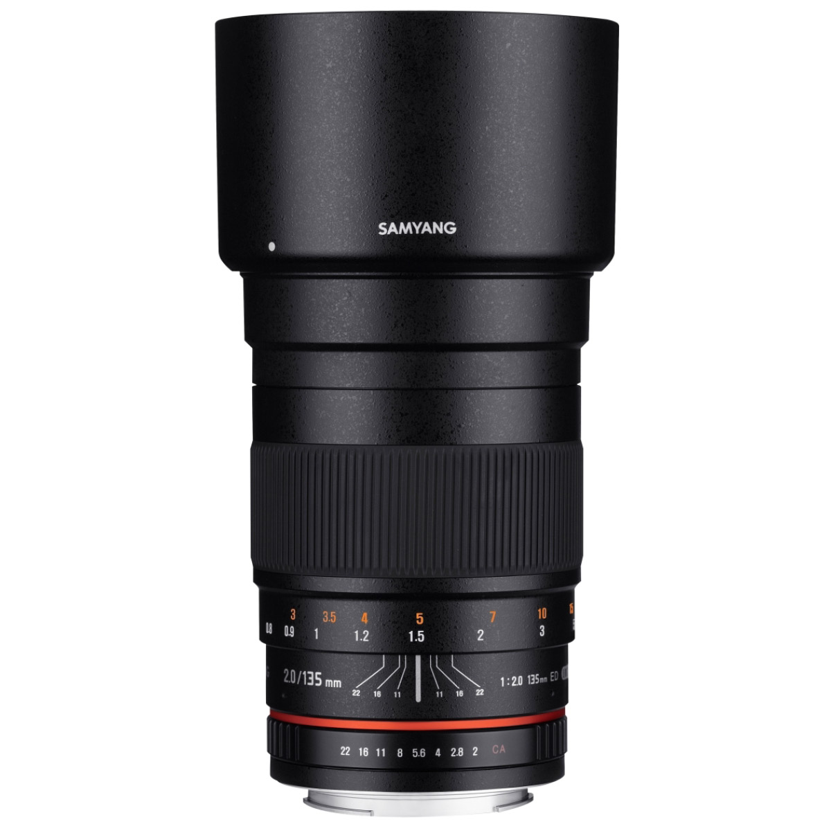 Samyang MF 135 mm 1:2,0 für Canon EF