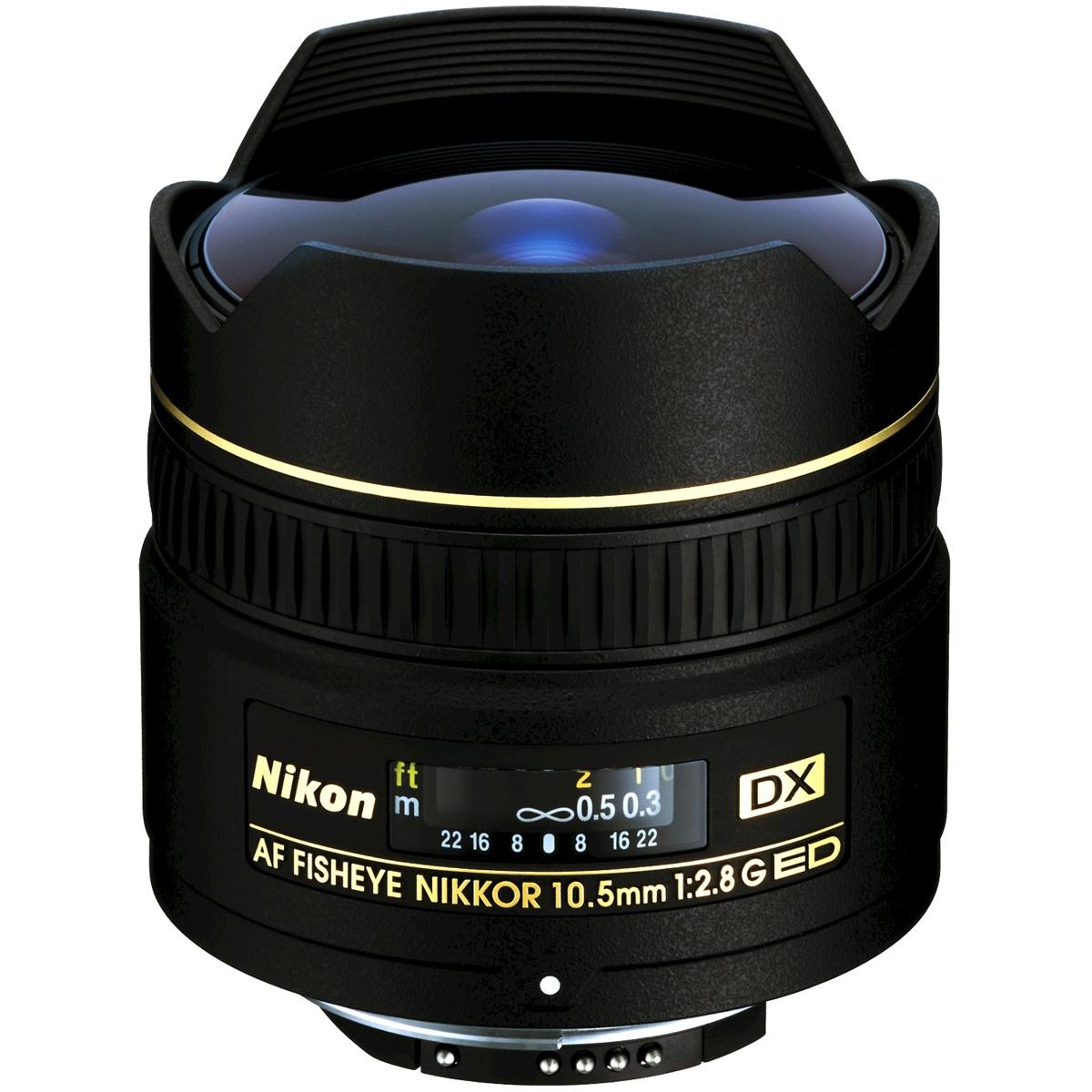 Nikon 10,5 mm 1:2,8 AF DX Fisheye G ED