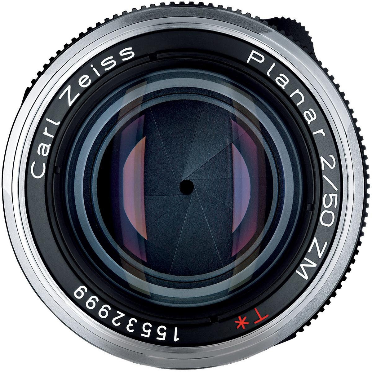 Zeiss 50 mm 1:2,0 Planar T ZM Schwarz