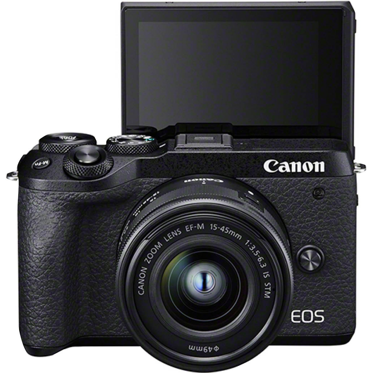 Canon EOS M6 Mark II Kit mit 15-45 mm 1:3,5-6,3