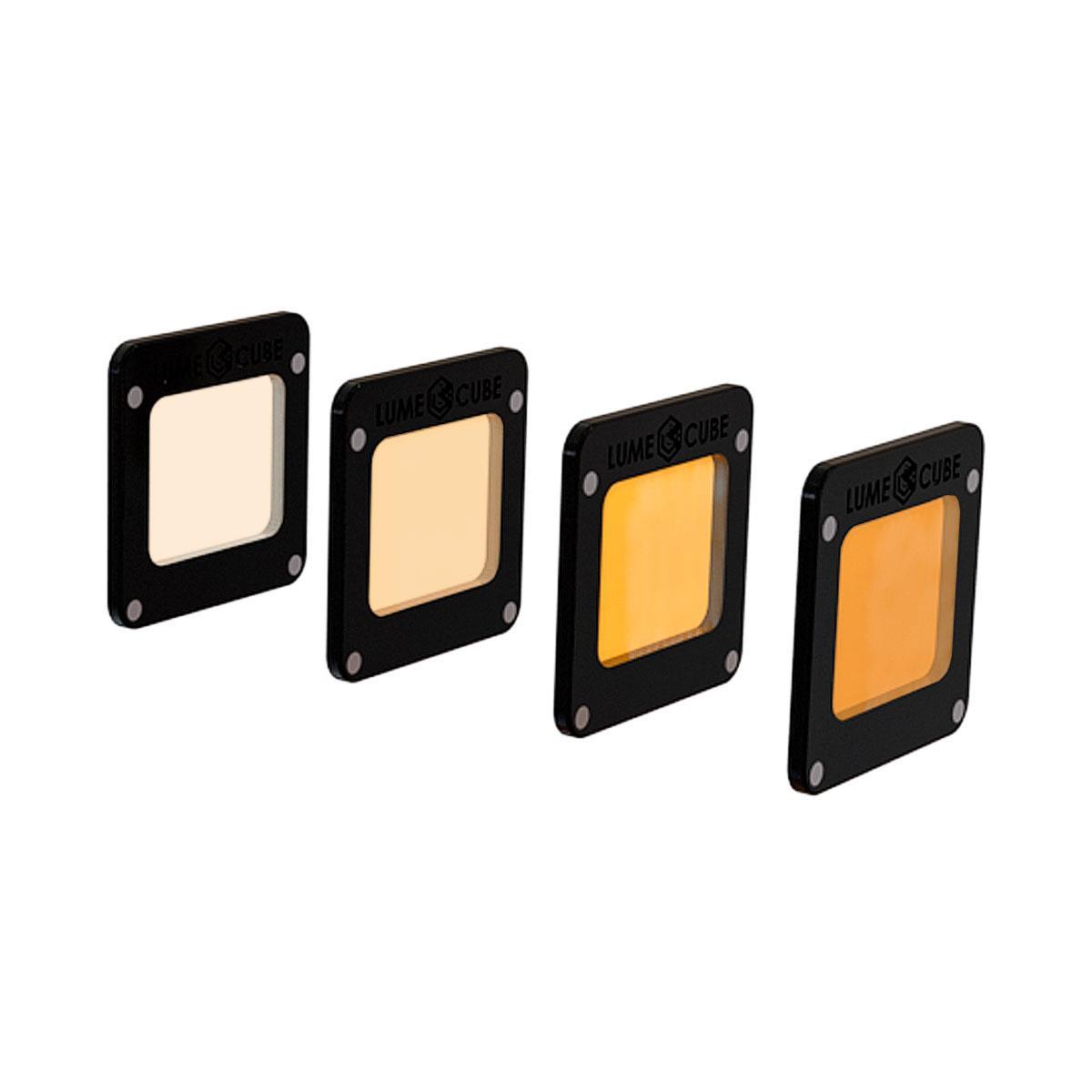 Lume Cube CTO Orange Filter Pack (4er Set)